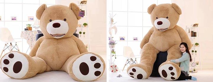 Riesen Teddy von Amazon